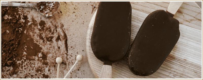 Receta para Helado ecologico de chocolate con aceite de oliva